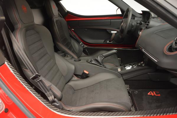 Used 2015 Alfa Romeo 4C Launch Edition for sale Sold at Pagani of Greenwich in Greenwich CT 06830 18