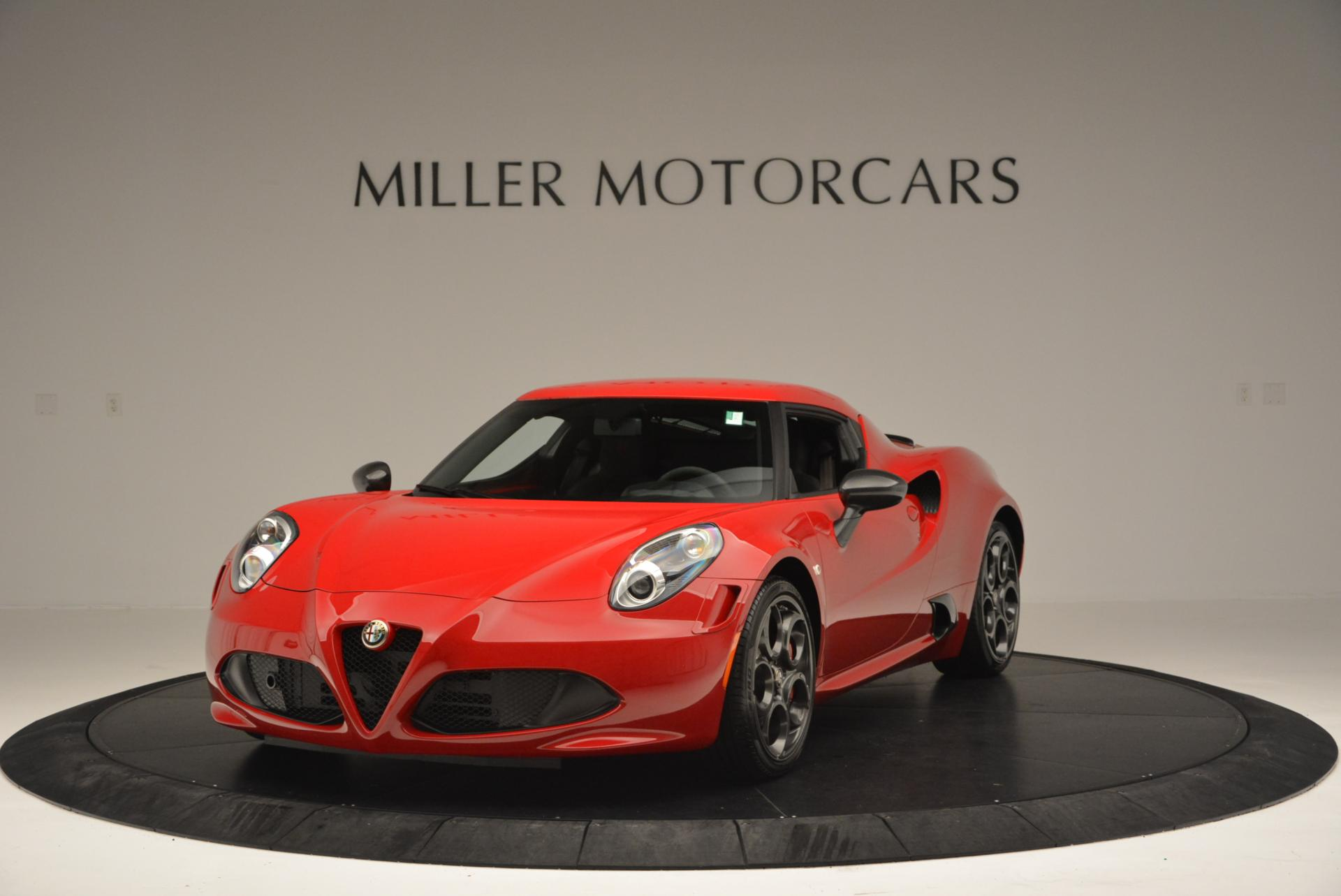 Used 2015 Alfa Romeo 4C Launch Edition for sale Sold at Pagani of Greenwich in Greenwich CT 06830 1