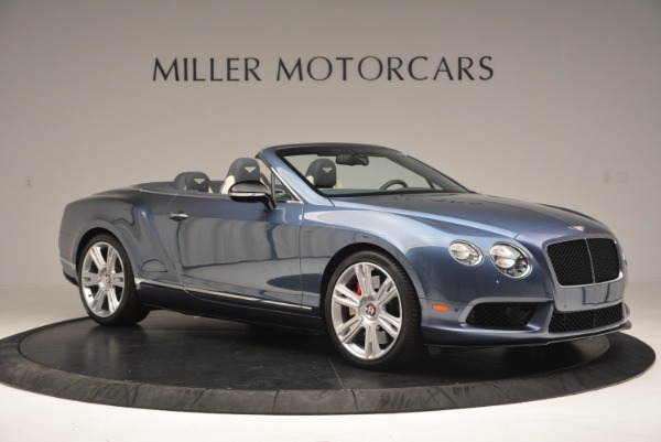 Used 2014 Bentley Continental GT V8 S Convertible for sale Sold at Pagani of Greenwich in Greenwich CT 06830 10