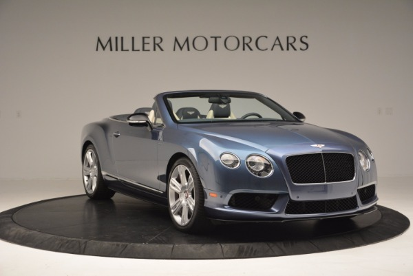 Used 2014 Bentley Continental GT V8 S Convertible for sale Sold at Pagani of Greenwich in Greenwich CT 06830 11