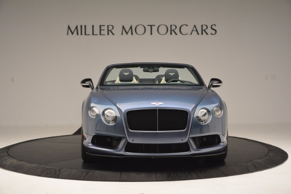 Used 2014 Bentley Continental GT V8 S Convertible for sale Sold at Pagani of Greenwich in Greenwich CT 06830 12