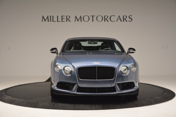 Used 2014 Bentley Continental GT V8 S Convertible for sale Sold at Pagani of Greenwich in Greenwich CT 06830 13