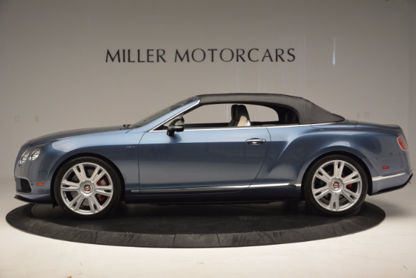 Used 2014 Bentley Continental GT V8 S Convertible for sale Sold at Pagani of Greenwich in Greenwich CT 06830 15
