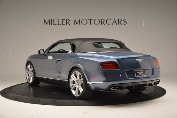 Used 2014 Bentley Continental GT V8 S Convertible for sale Sold at Pagani of Greenwich in Greenwich CT 06830 16