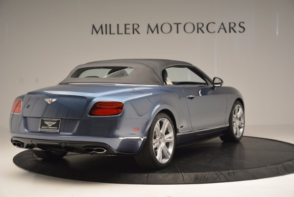 Used 2014 Bentley Continental GT V8 S Convertible for sale Sold at Pagani of Greenwich in Greenwich CT 06830 18