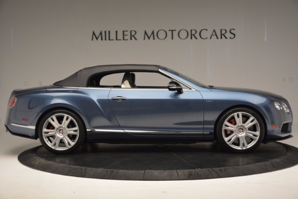 Used 2014 Bentley Continental GT V8 S Convertible for sale Sold at Pagani of Greenwich in Greenwich CT 06830 19