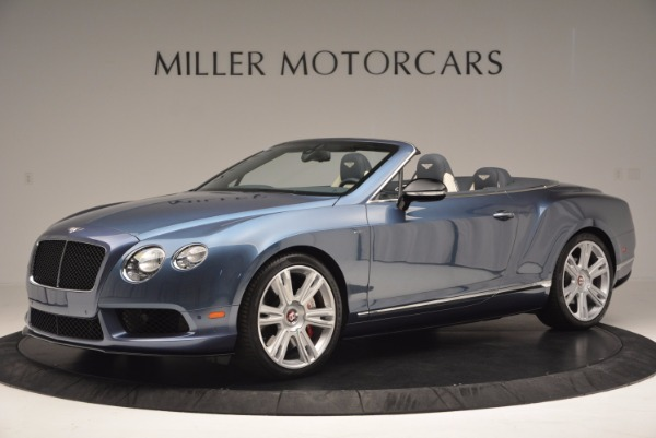 Used 2014 Bentley Continental GT V8 S Convertible for sale Sold at Pagani of Greenwich in Greenwich CT 06830 2