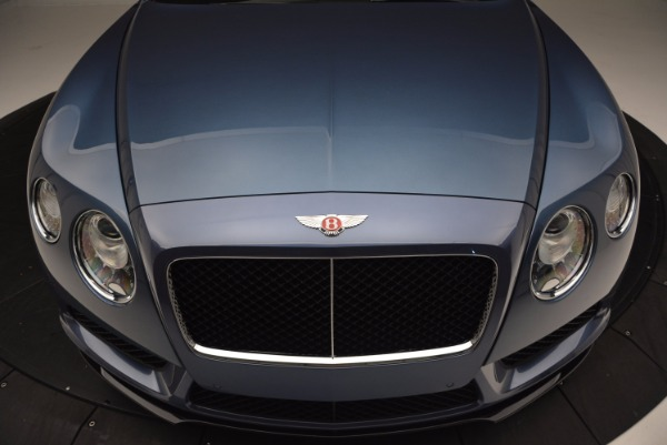 Used 2014 Bentley Continental GT V8 S Convertible for sale Sold at Pagani of Greenwich in Greenwich CT 06830 21