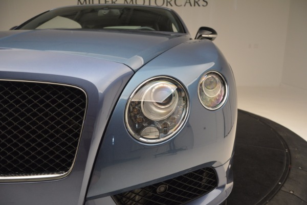 Used 2014 Bentley Continental GT V8 S Convertible for sale Sold at Pagani of Greenwich in Greenwich CT 06830 23