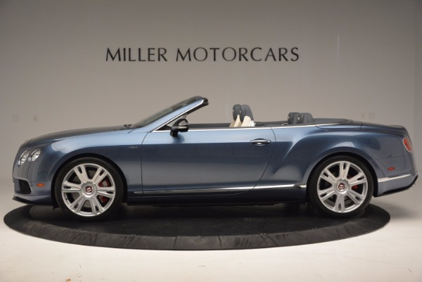Used 2014 Bentley Continental GT V8 S Convertible for sale Sold at Pagani of Greenwich in Greenwich CT 06830 3