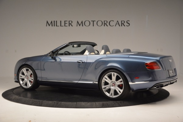 Used 2014 Bentley Continental GT V8 S Convertible for sale Sold at Pagani of Greenwich in Greenwich CT 06830 4
