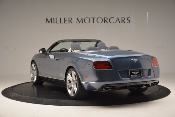 Used 2014 Bentley Continental GT V8 S Convertible for sale Sold at Pagani of Greenwich in Greenwich CT 06830 5