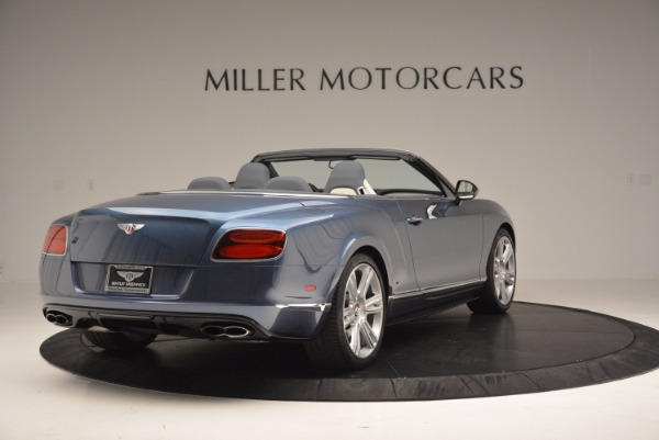 Used 2014 Bentley Continental GT V8 S Convertible for sale Sold at Pagani of Greenwich in Greenwich CT 06830 7