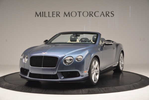 Used 2014 Bentley Continental GT V8 S Convertible for sale Sold at Pagani of Greenwich in Greenwich CT 06830 1