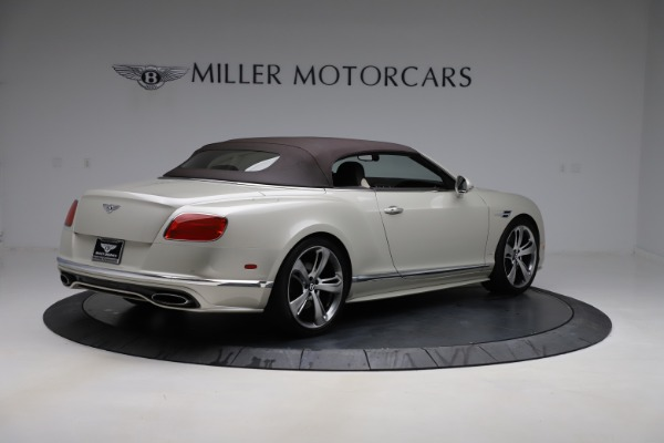 Used 2016 Bentley Continental GTC Speed for sale $149,900 at Pagani of Greenwich in Greenwich CT 06830 18