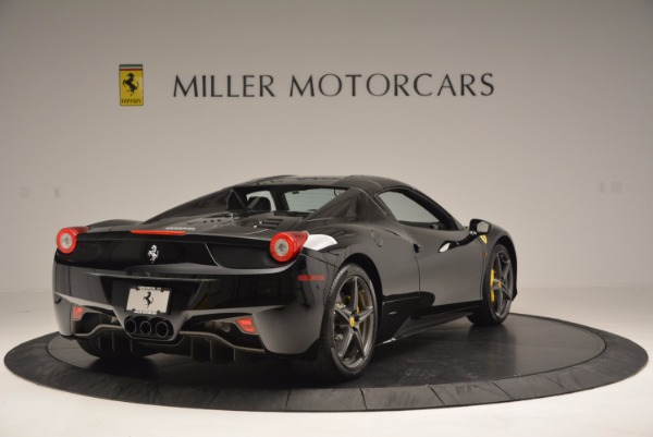 Used 2014 Ferrari 458 Spider for sale Sold at Pagani of Greenwich in Greenwich CT 06830 19