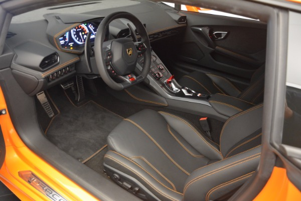 Used 2015 Lamborghini Huracan LP 610-4 for sale Sold at Pagani of Greenwich in Greenwich CT 06830 13