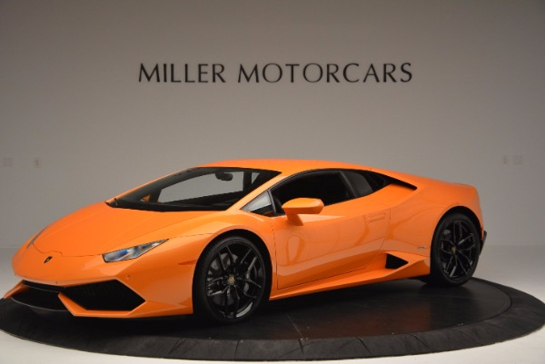 Used 2015 Lamborghini Huracan LP 610-4 for sale Sold at Pagani of Greenwich in Greenwich CT 06830 2