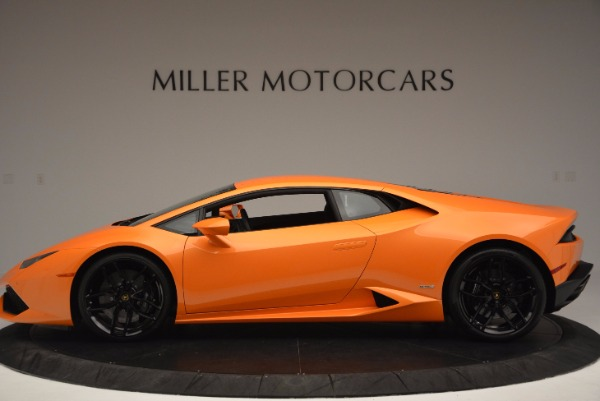 Used 2015 Lamborghini Huracan LP 610-4 for sale Sold at Pagani of Greenwich in Greenwich CT 06830 3