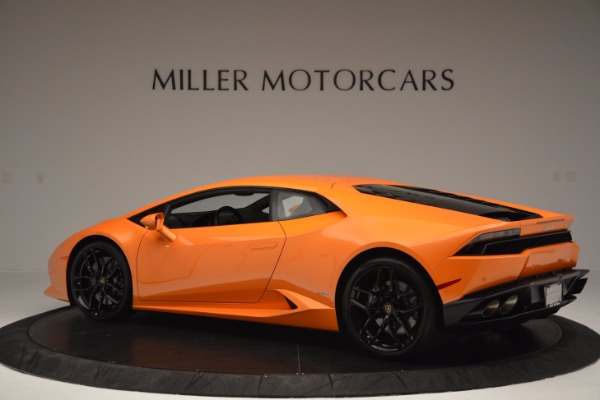 Used 2015 Lamborghini Huracan LP 610-4 for sale Sold at Pagani of Greenwich in Greenwich CT 06830 4