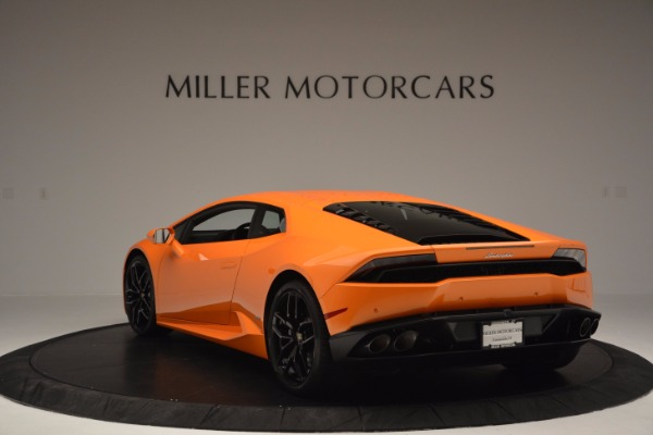 Used 2015 Lamborghini Huracan LP 610-4 for sale Sold at Pagani of Greenwich in Greenwich CT 06830 5