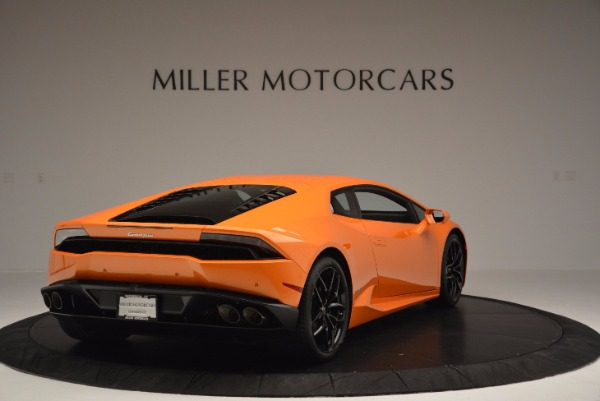 Used 2015 Lamborghini Huracan LP 610-4 for sale Sold at Pagani of Greenwich in Greenwich CT 06830 7