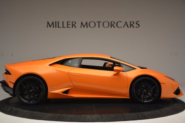 Used 2015 Lamborghini Huracan LP 610-4 for sale Sold at Pagani of Greenwich in Greenwich CT 06830 9