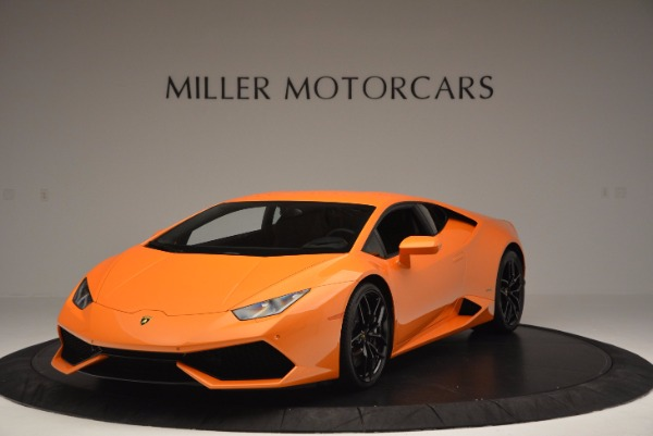 Used 2015 Lamborghini Huracan LP 610-4 for sale Sold at Pagani of Greenwich in Greenwich CT 06830 1
