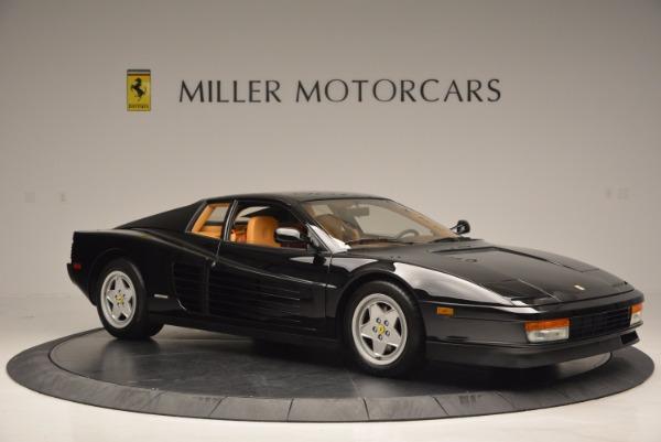 Used 1989 Ferrari Testarossa for sale Sold at Pagani of Greenwich in Greenwich CT 06830 10
