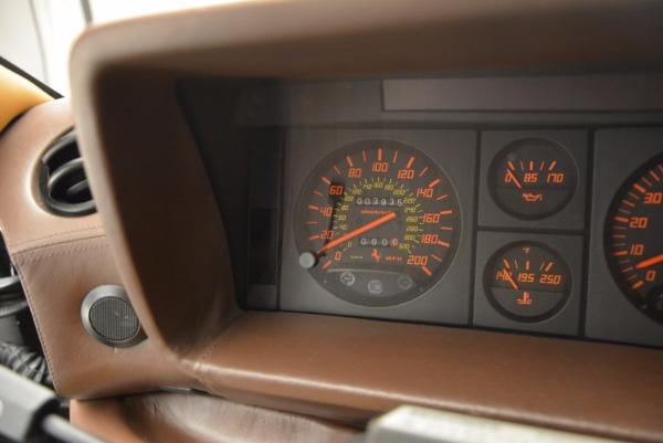 Used 1989 Ferrari Testarossa for sale Sold at Pagani of Greenwich in Greenwich CT 06830 20