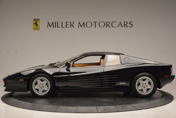Used 1989 Ferrari Testarossa for sale Sold at Pagani of Greenwich in Greenwich CT 06830 3
