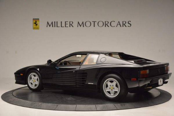 Used 1989 Ferrari Testarossa for sale Sold at Pagani of Greenwich in Greenwich CT 06830 4