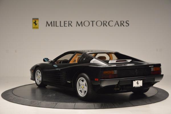 Used 1989 Ferrari Testarossa for sale Sold at Pagani of Greenwich in Greenwich CT 06830 5