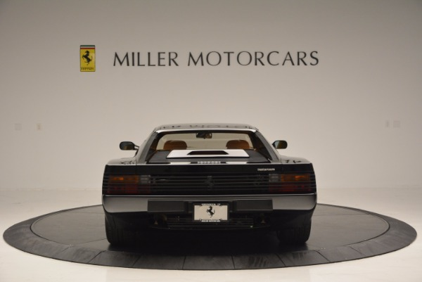 Used 1989 Ferrari Testarossa for sale Sold at Pagani of Greenwich in Greenwich CT 06830 6