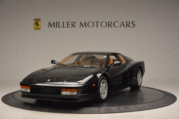 Used 1989 Ferrari Testarossa for sale Sold at Pagani of Greenwich in Greenwich CT 06830 1