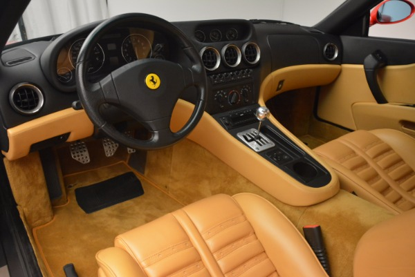 Used 2000 Ferrari 550 Maranello for sale Sold at Pagani of Greenwich in Greenwich CT 06830 13