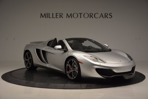 Used 2014 McLaren MP4-12C Spider for sale Sold at Pagani of Greenwich in Greenwich CT 06830 10