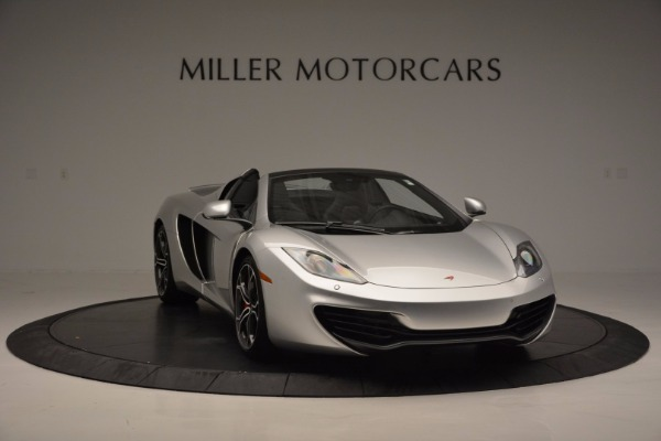 Used 2014 McLaren MP4-12C Spider for sale Sold at Pagani of Greenwich in Greenwich CT 06830 11