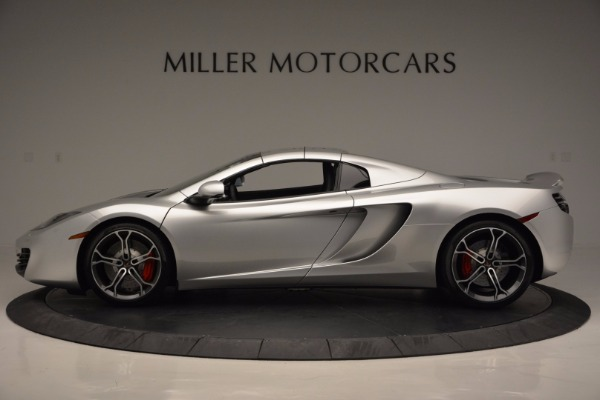 Used 2014 McLaren MP4-12C Spider for sale Sold at Pagani of Greenwich in Greenwich CT 06830 16