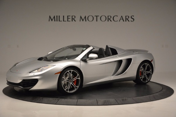 Used 2014 McLaren MP4-12C Spider for sale Sold at Pagani of Greenwich in Greenwich CT 06830 2