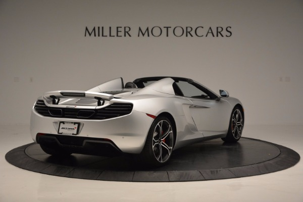 Used 2014 McLaren MP4-12C Spider for sale Sold at Pagani of Greenwich in Greenwich CT 06830 7