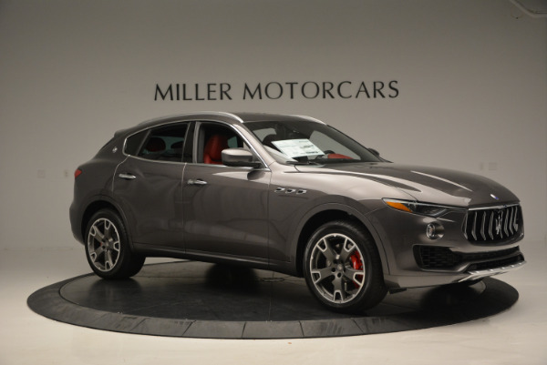 Used 2017 Maserati Levante Ex Service Loaner for sale Sold at Pagani of Greenwich in Greenwich CT 06830 10