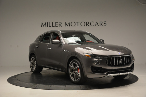 Used 2017 Maserati Levante Ex Service Loaner for sale Sold at Pagani of Greenwich in Greenwich CT 06830 11