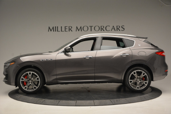 Used 2017 Maserati Levante Ex Service Loaner for sale Sold at Pagani of Greenwich in Greenwich CT 06830 3