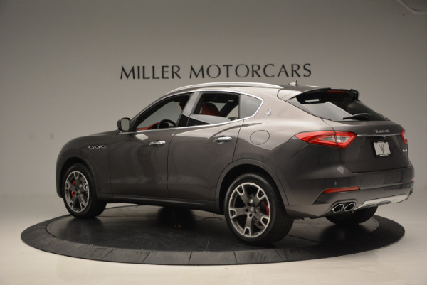 Used 2017 Maserati Levante Ex Service Loaner for sale Sold at Pagani of Greenwich in Greenwich CT 06830 4