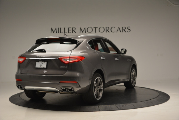Used 2017 Maserati Levante Ex Service Loaner for sale Sold at Pagani of Greenwich in Greenwich CT 06830 7