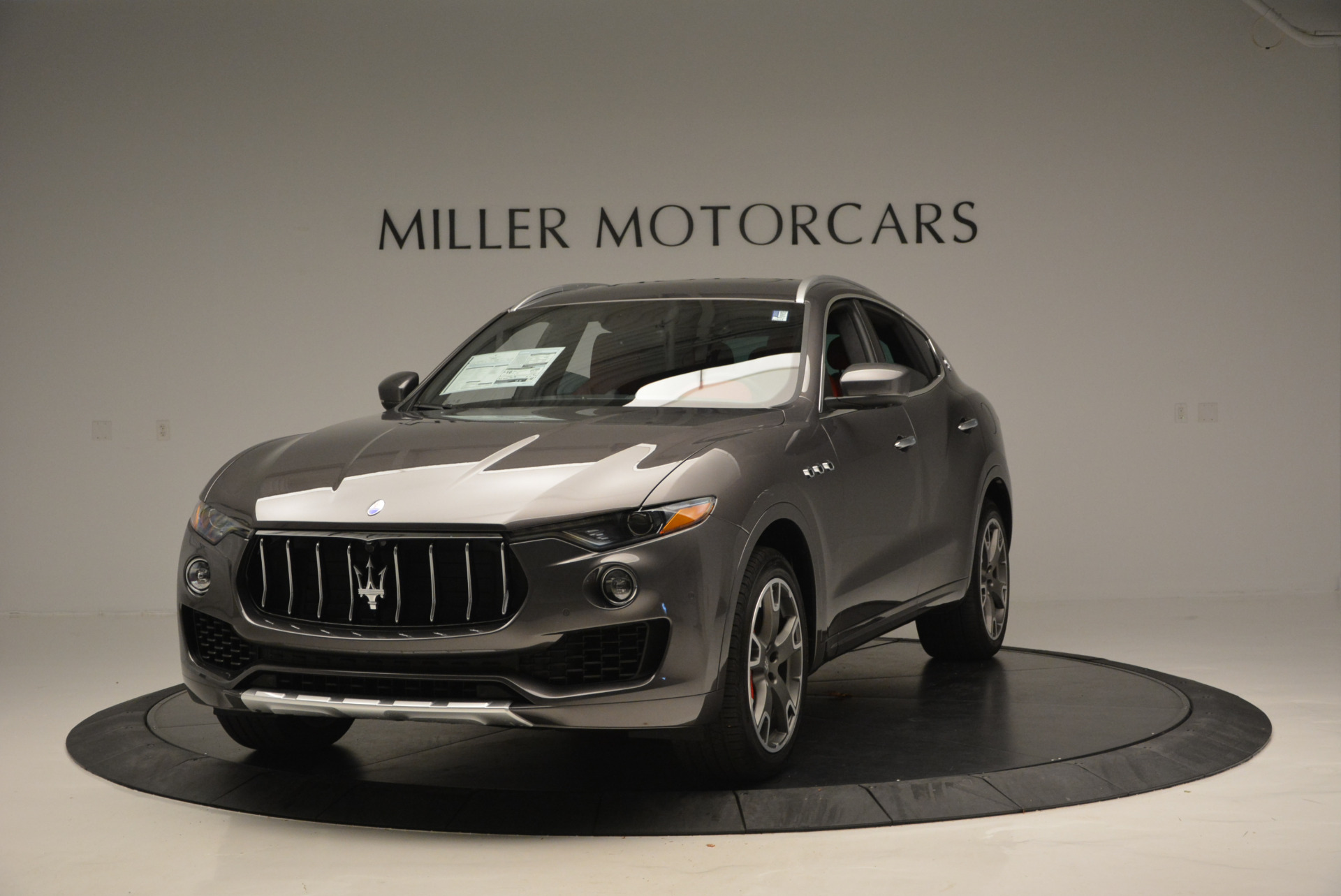 Used 2017 Maserati Levante Ex Service Loaner for sale Sold at Pagani of Greenwich in Greenwich CT 06830 1