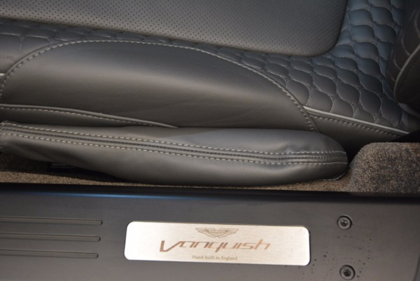 Used 2017 Aston Martin Vanquish Coupe for sale Sold at Pagani of Greenwich in Greenwich CT 06830 21