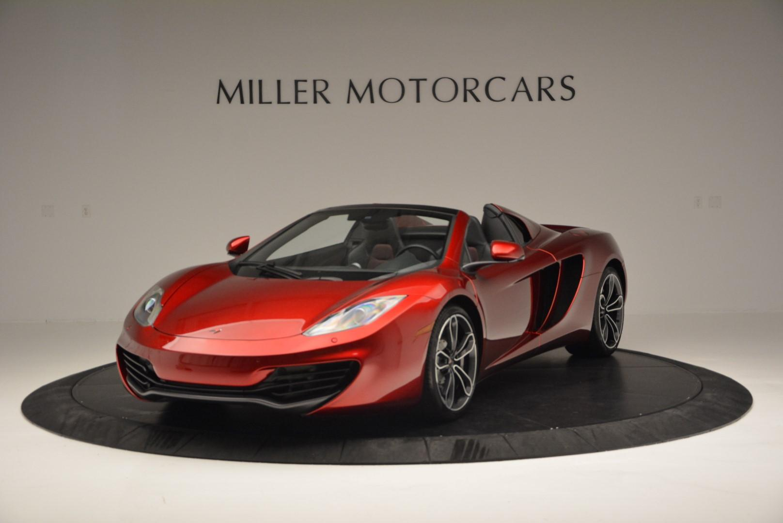 Used 2013 McLaren MP4-12C Base for sale Sold at Pagani of Greenwich in Greenwich CT 06830 1