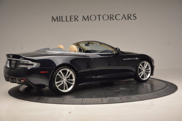 Used 2012 Aston Martin DBS Volante for sale Sold at Pagani of Greenwich in Greenwich CT 06830 8